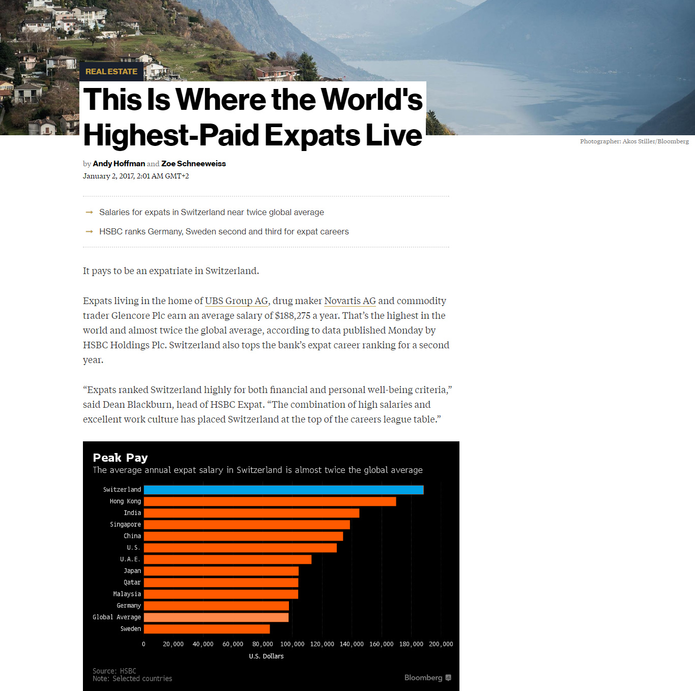 Pdf: This is where the world's highest-paid expats live - Stonehard