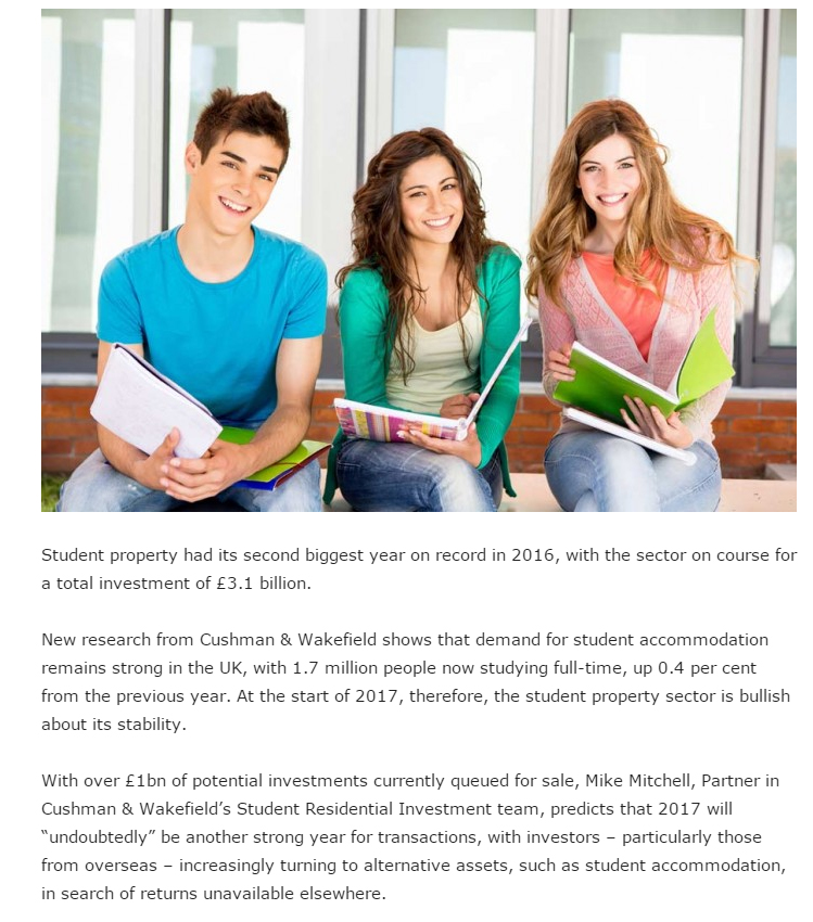 Pdf: Student property investment enjoys second biggest year - Stonehard