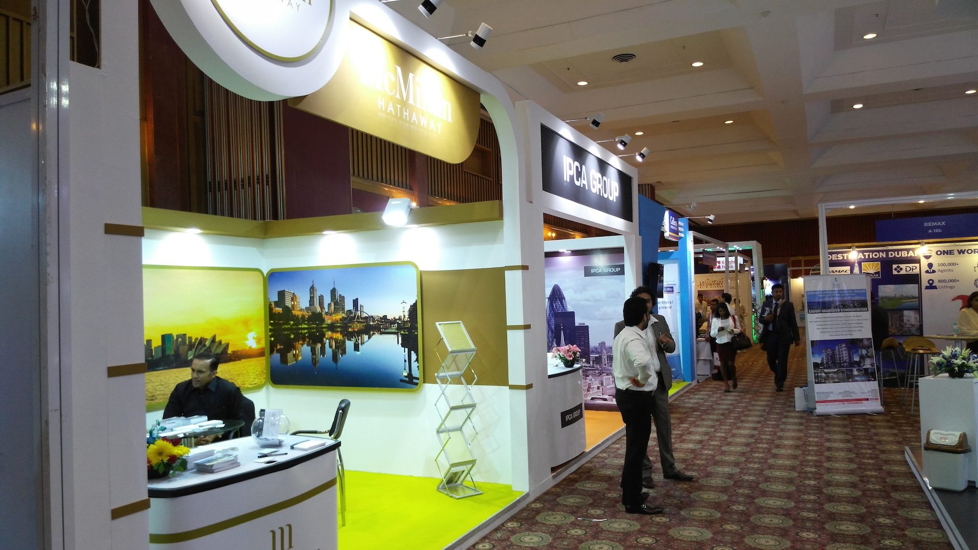 Stonehard's managing director attends IREX Property Expo in New Delhi, India4 - Stonehard