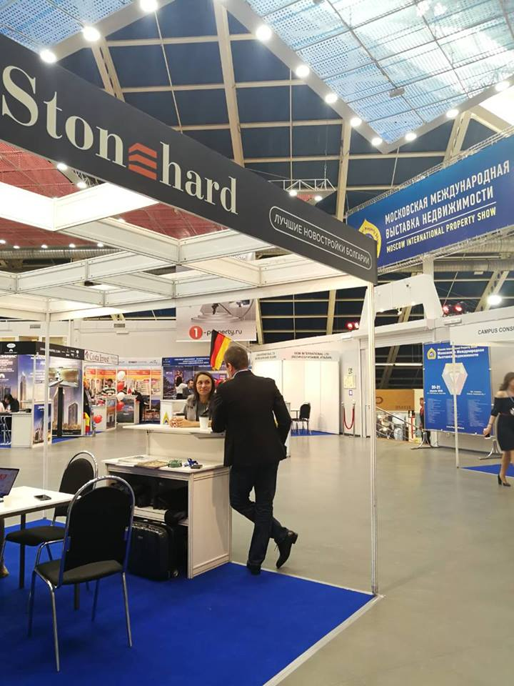 Stonehard's managing director attends the 30th Moscow International Property Show5 - Stonehard