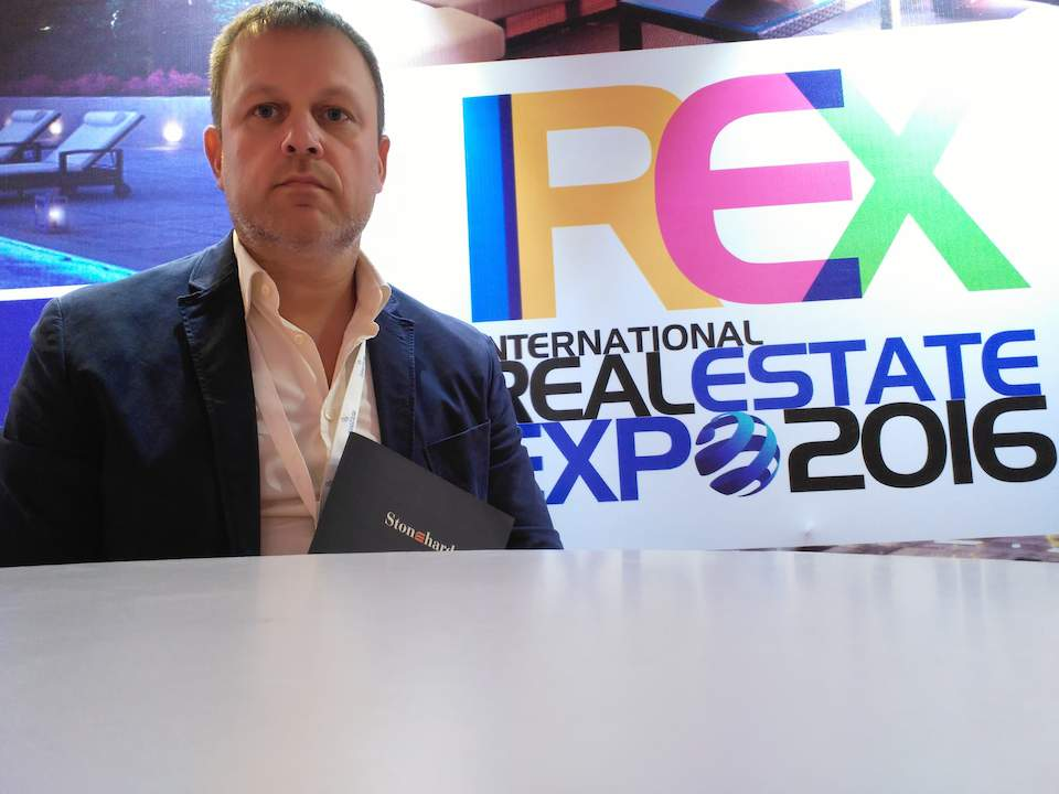 Stonehard's managing director attends IREX Property Expo in New Delhi, India5 - Stonehard