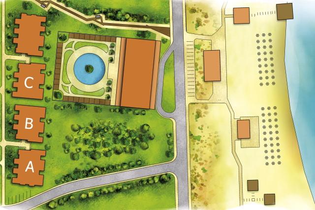Master Plan: Green Life Beach Residence