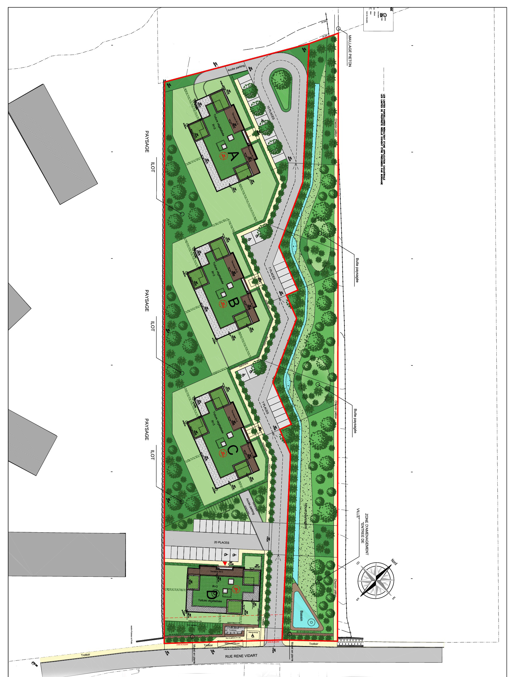 Master Plan: New project in Divonne-les-Bains on the Fench-Swiss border