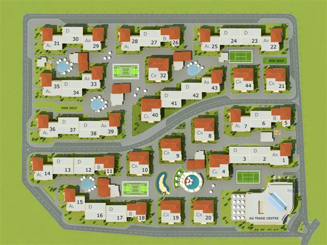 Master Plan: Apartments at attractive prices near popular beach resort