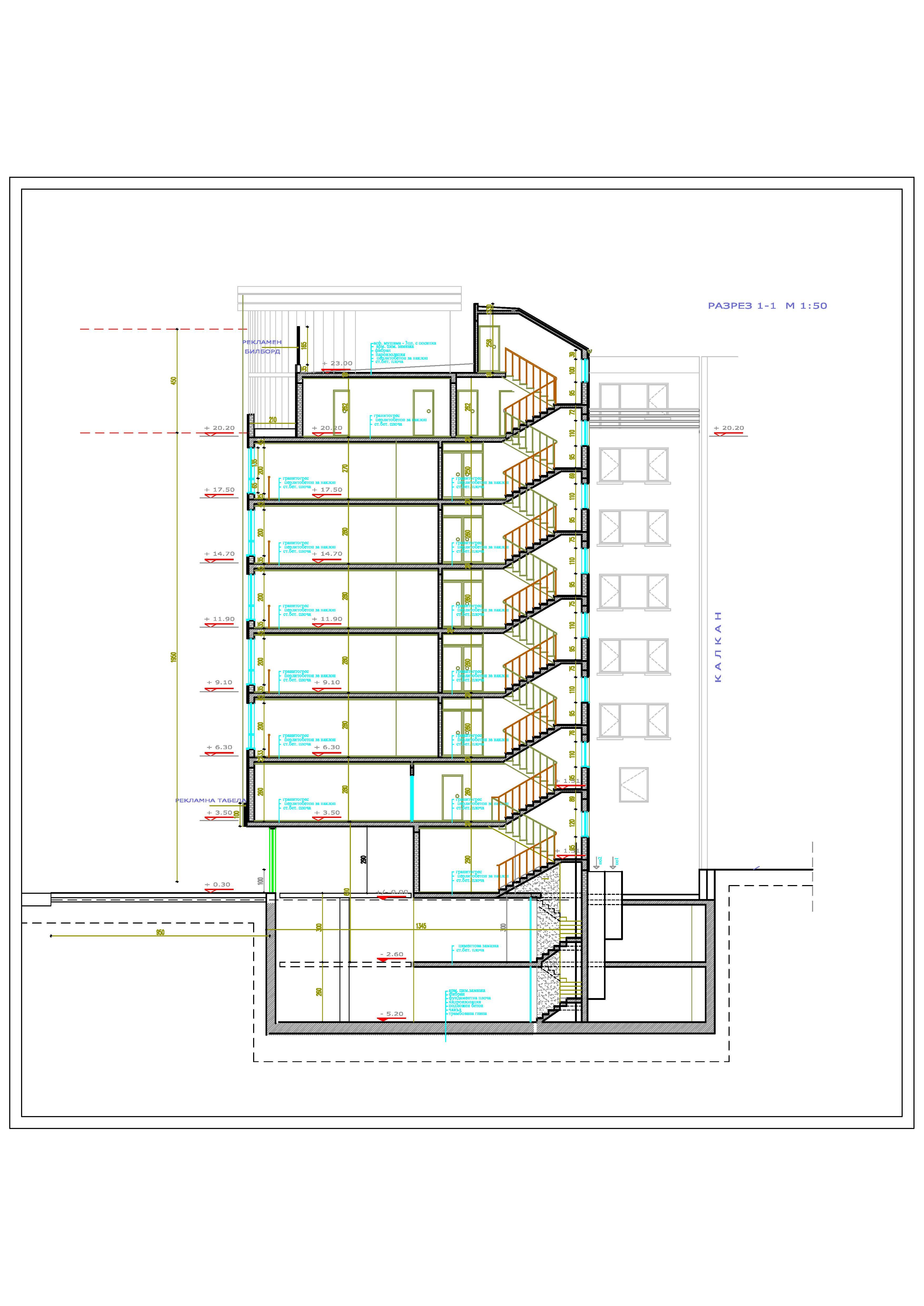 Master Plan: Large building on Tsarigradsko Shosse Blvd.