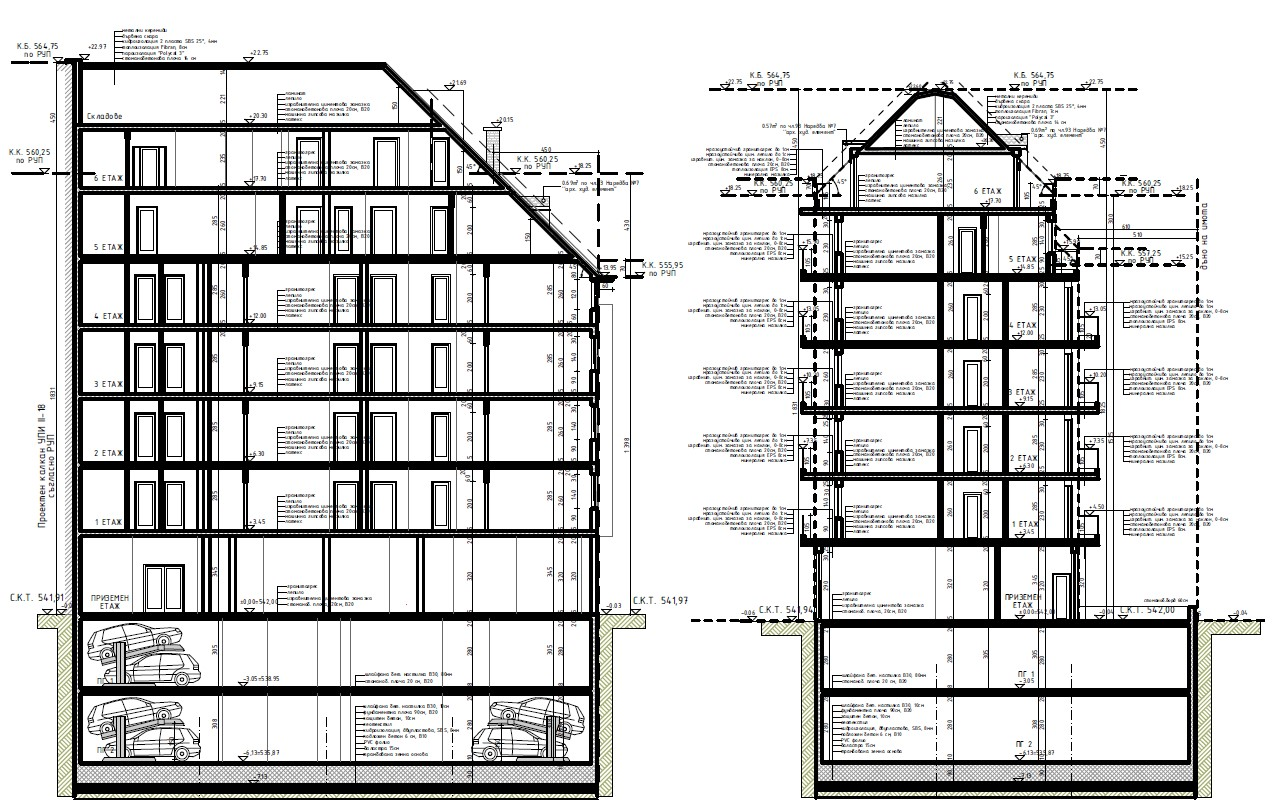 Master Plan: Nice new apartment building in the central part of Sofia