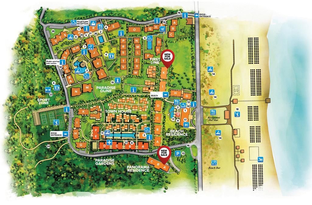 Master Plan: Apartments from the newest phase of premium complex near Sozopol