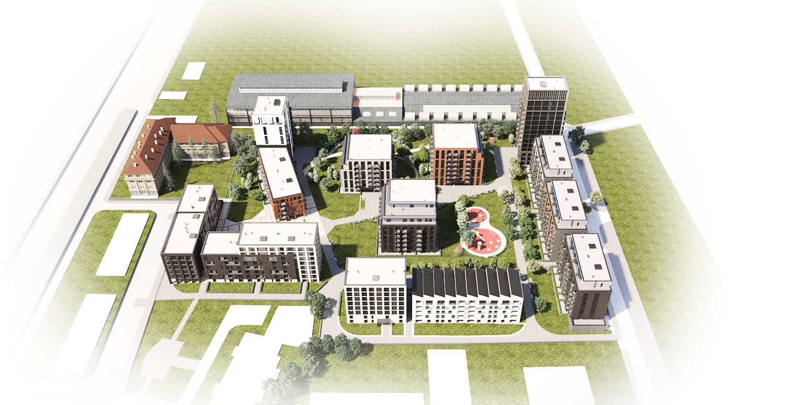 Master Plan: Nove Homes - new development of 14 buildings in Sofia